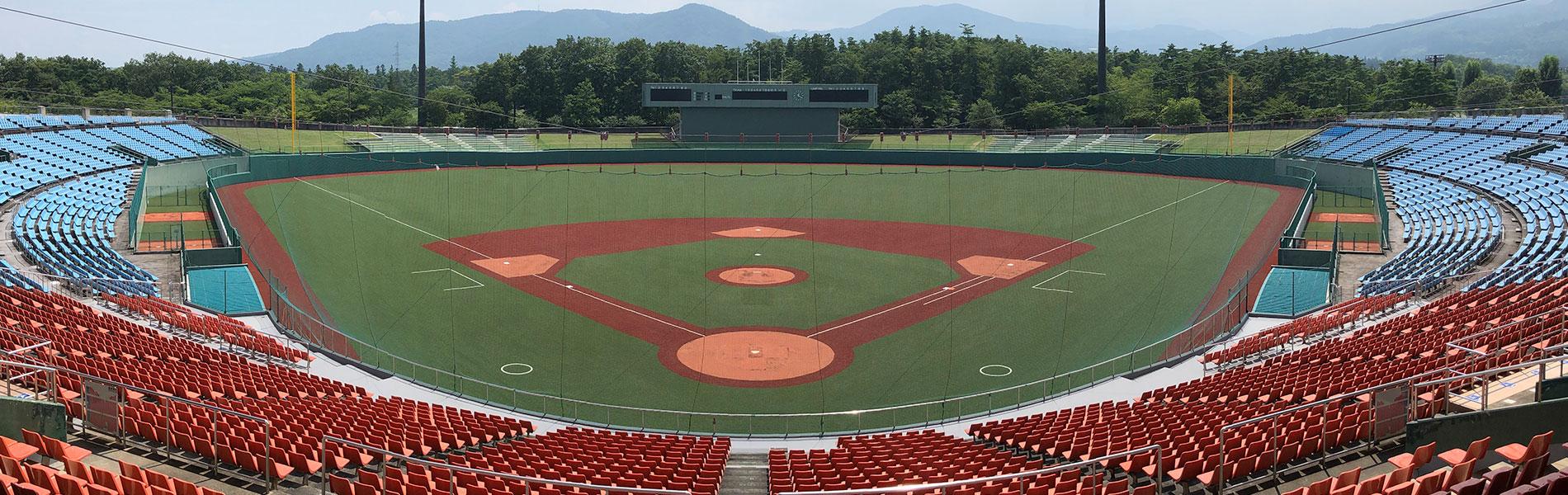 野球場」向けの製品・サービス | 未分類 | 日本体育施設株式会社